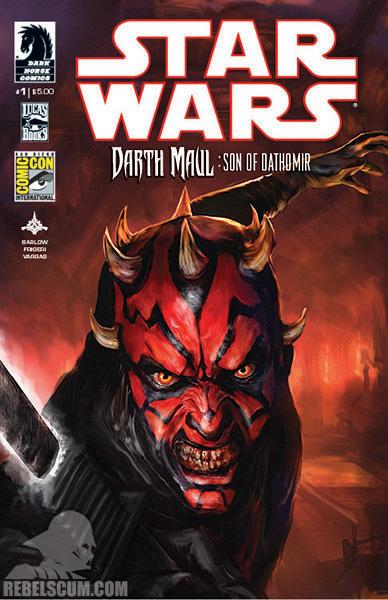 Darth Maul - Son of Dathomir #1 (San Diego Comic Con 2014 variant)