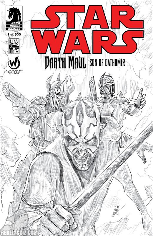 Darth Maul: Son of Dathomir 1 (Wizard World Atlanta 2014 sketch variant)