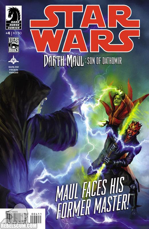 Darth Maul - Son of Dathomir #4