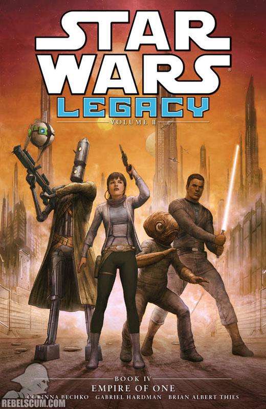 Legacy, Volume 2 Trade Paperback #4