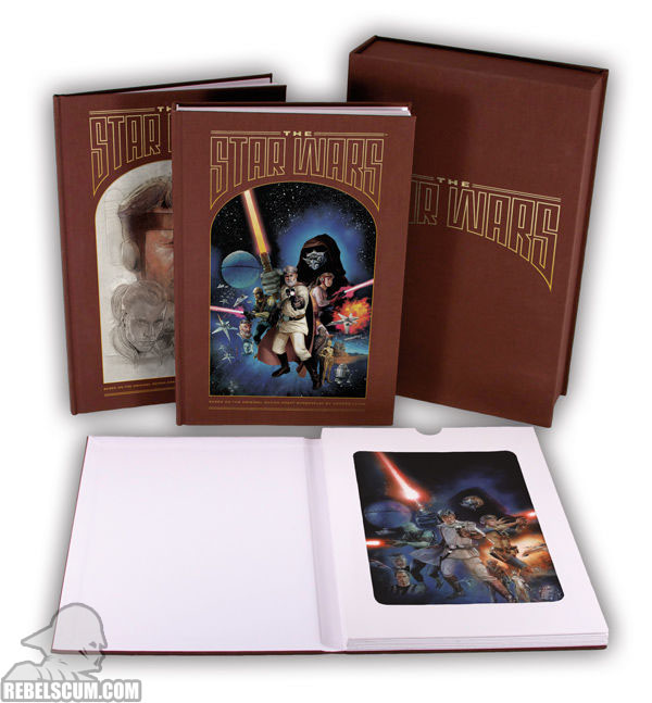 The Star Wars Deluxe Edition (full set view-promotional)