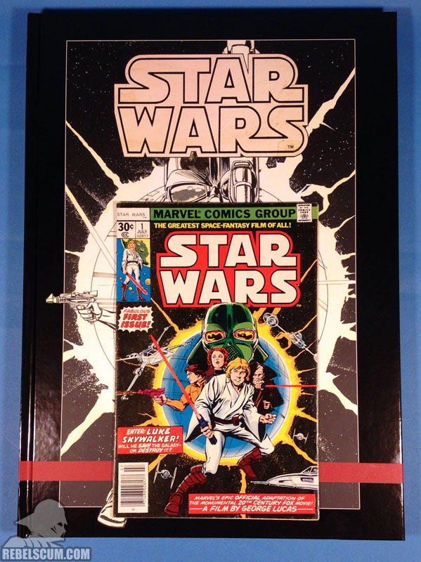 Star Wars Artifact Edition Hardcover (Comparison to Star Wars #1)