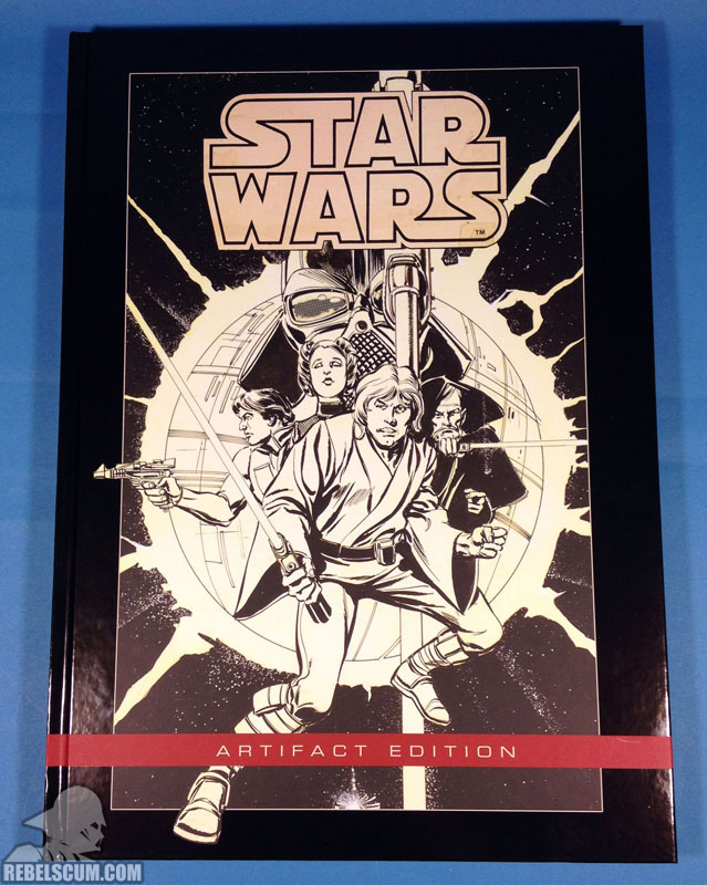 Star Wars Artifact Edition Hardcover (Front Cover)