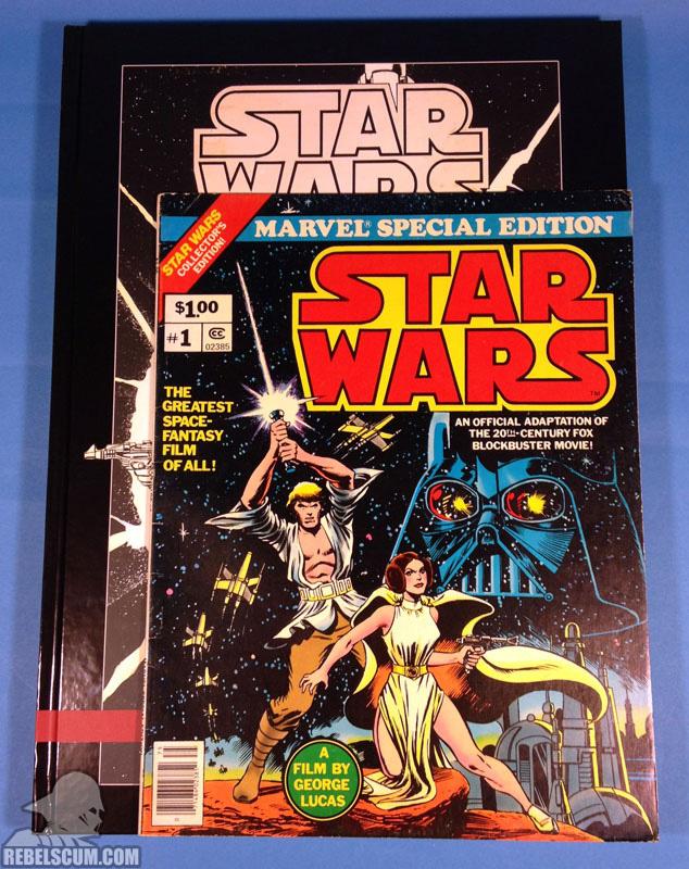 Star Wars Artifact Edition Hardcover (Comparison to Marvel Treasury Edition)