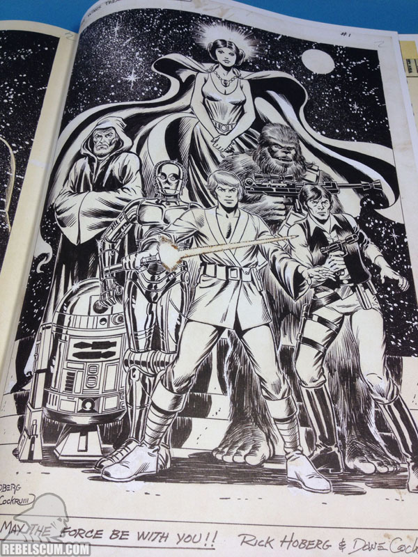 Star Wars Artifact Edition Hardcover (Sample Page)