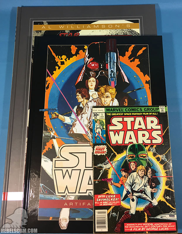 Star Wars Artifact Edition Hardcover (Limited Edition-Comparisons)