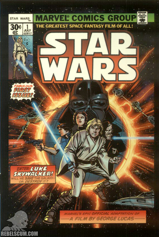 Micro Comic Star Wars 1