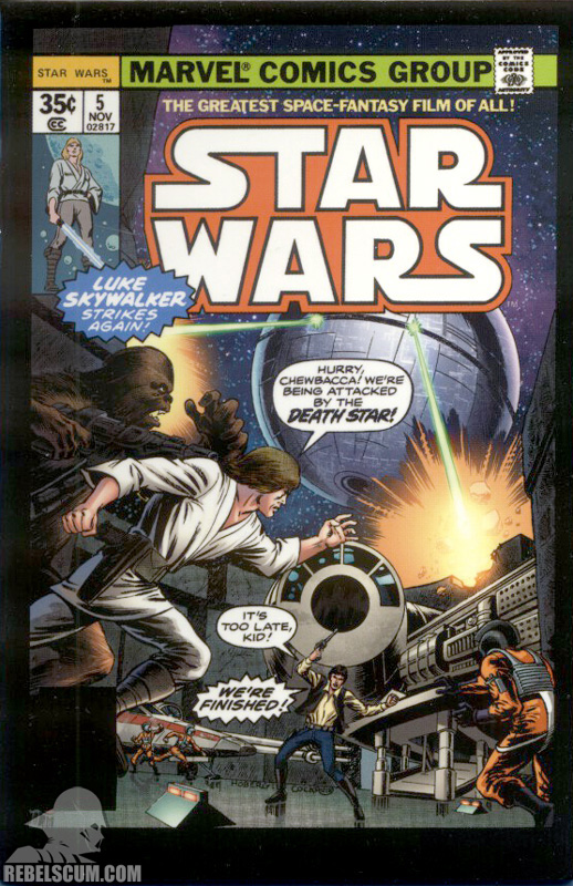 Micro Comic Star Wars 5