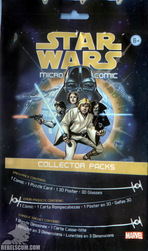 Micro Comic Pack – A New Hope