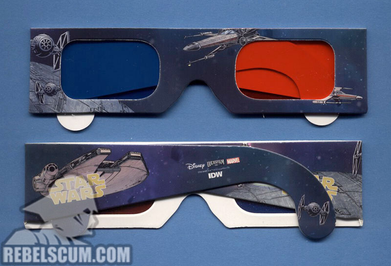 Micro Comic Collector Pack (3D Glasses)
