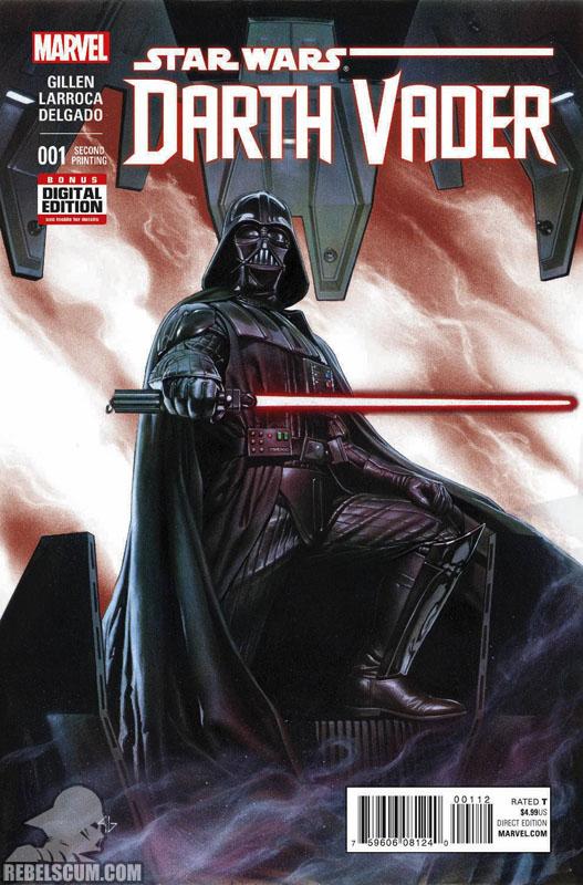 Darth Vader 1 (2nd printing - April 2015)