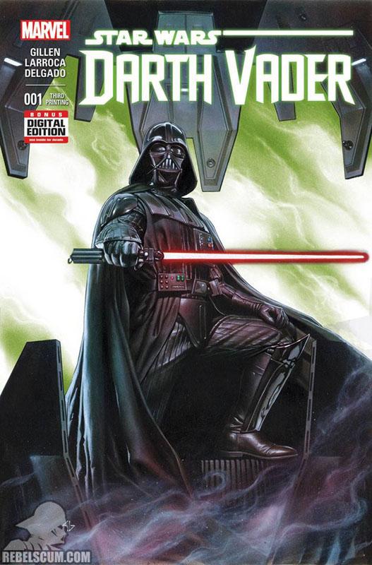 Darth Vader 1 (3rd printing - May 2015)