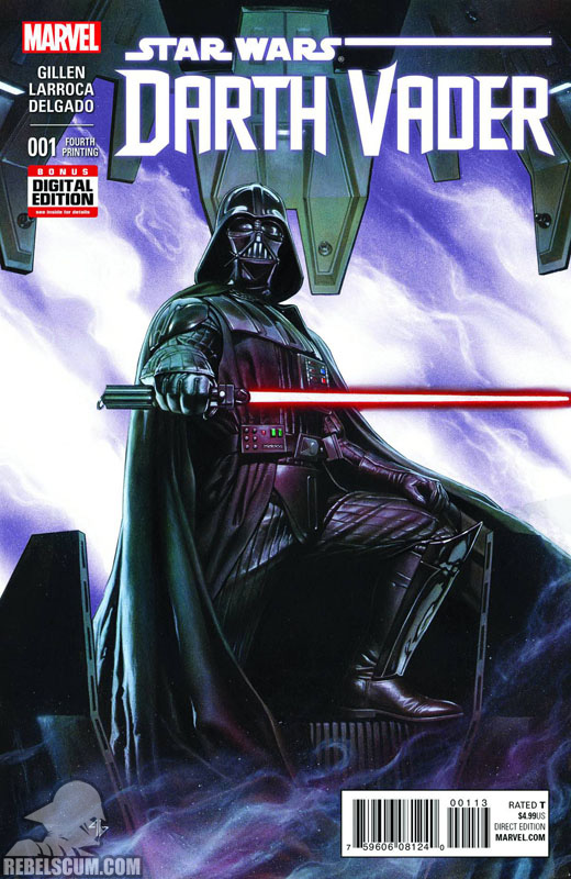 Darth Vader 1 (4th printing - July 2015)
