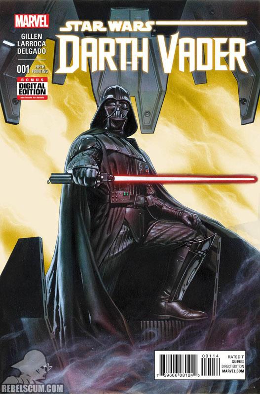 Darth Vader 1 (5th printing - November 2015)