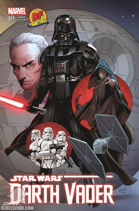 Darth Vader 1 (Greg Land Dynamic Forces variant)