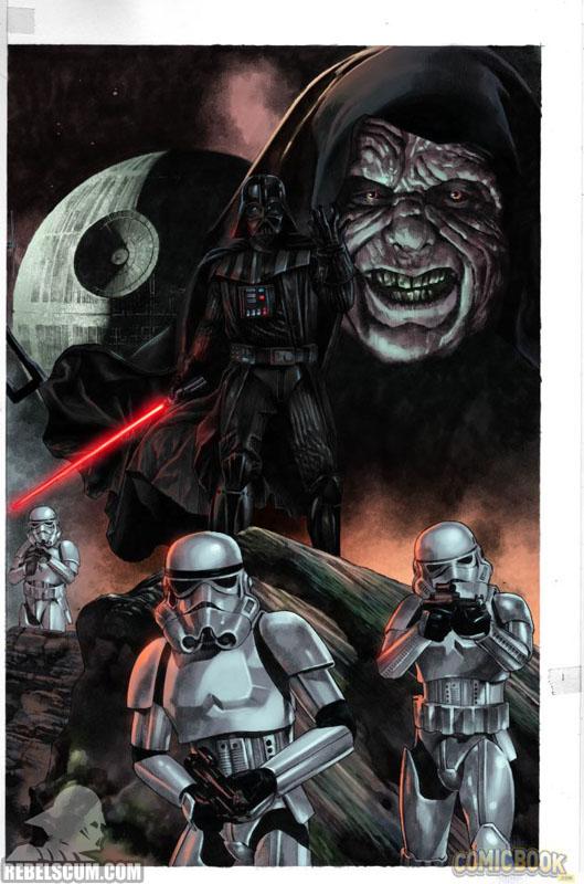 Darth Vader 1 (Mico Suayan Hastings variant)