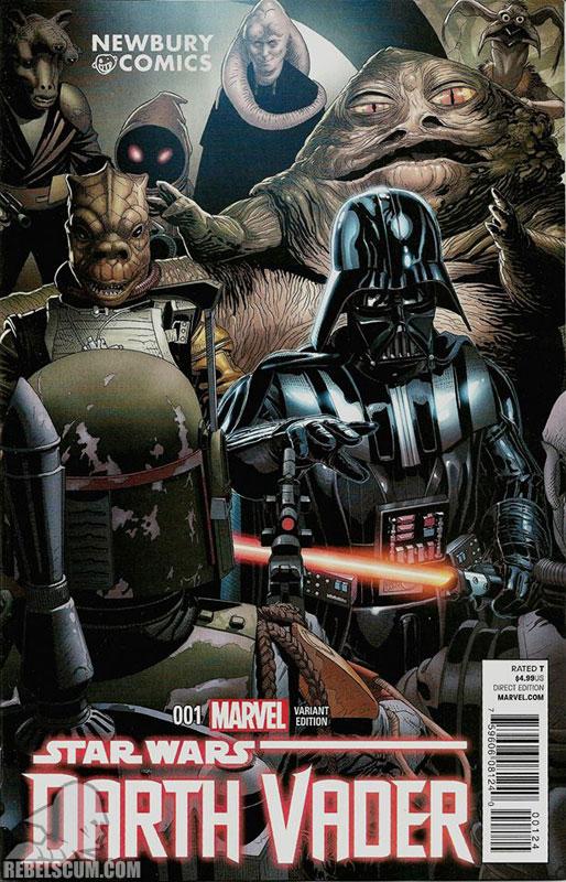Darth Vader 1 (Salvador Larroca Newbury Comics variant)