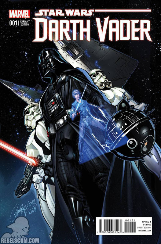 Darth Vader 1 (J. Scott Campbell connecting variant