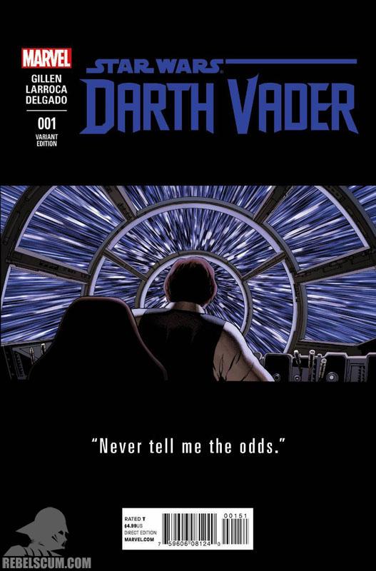 Darth Vader 1 (John Cassady teaser variant)