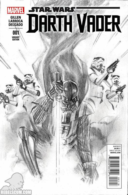Darth Vader 1 (Alex Ross sketch variant)