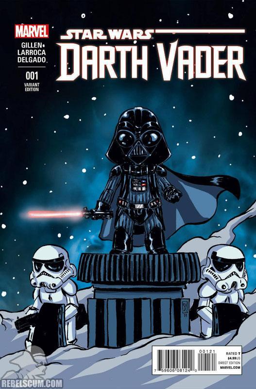 Darth Vader 1 (Skottie Young variant)