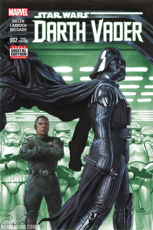 Darth Vader 2 (3rd printing - May 2015)