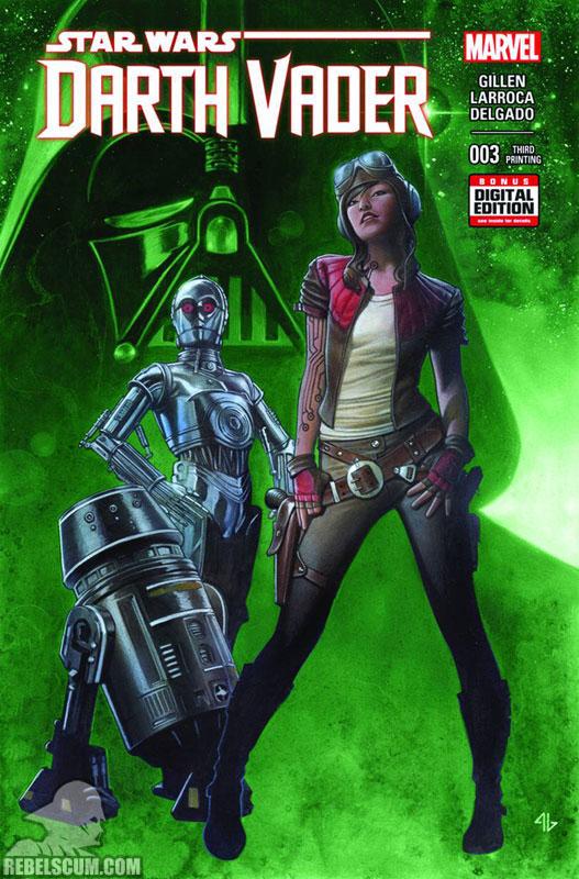 Darth Vader 3 (3rd printing - June 2015)