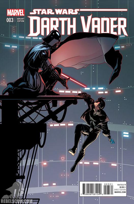 Darth Vader 3 (Salvador Larroca variant)