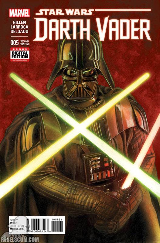 Darth Vader 5 (2nd printing - November 2015)