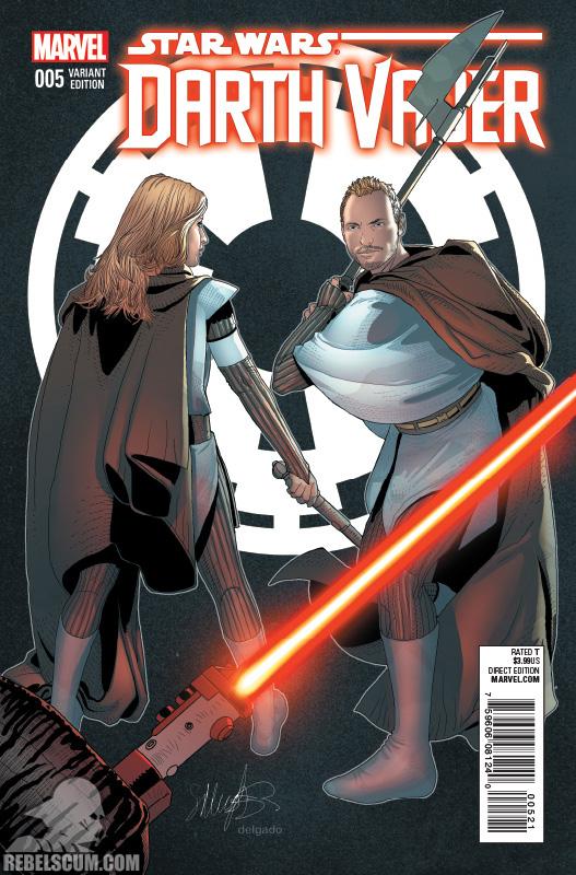 Darth Vader 5 (Salvador Larroca variant)