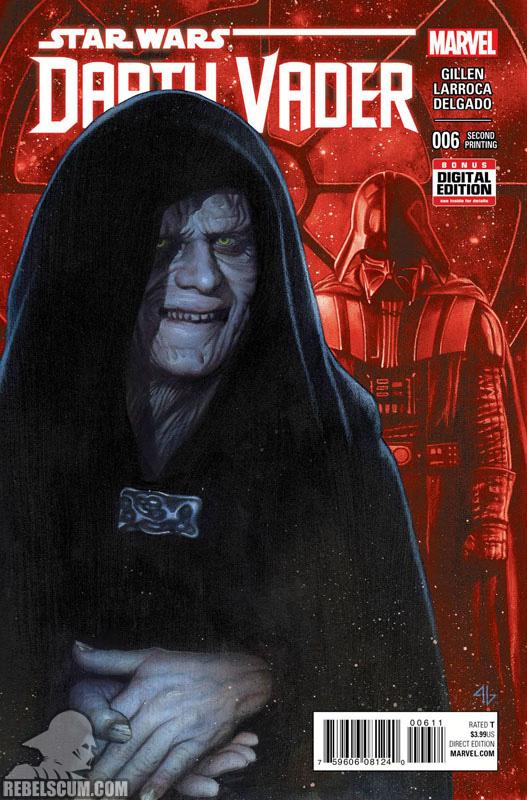 Darth Vader 6 (2nd printing - November 2015)