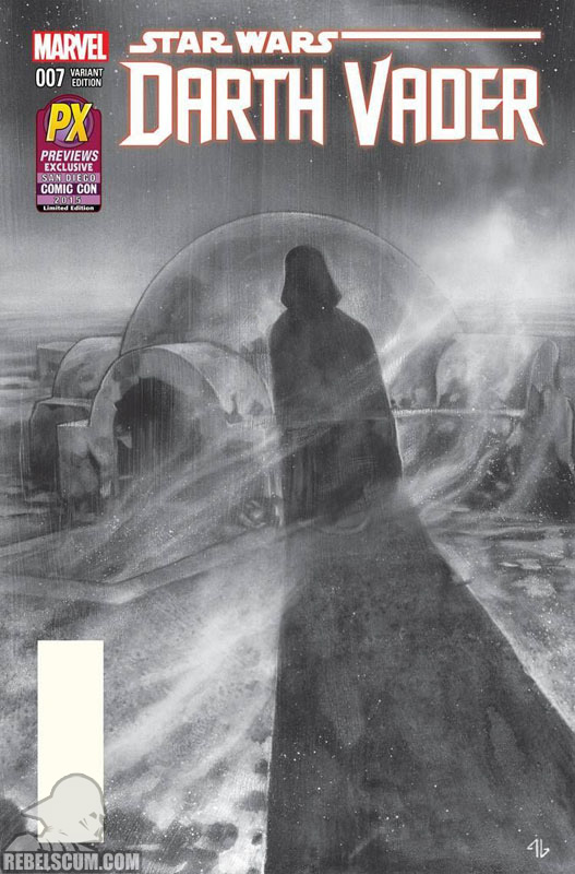 Darth Vader 7 (Previews Exclusive SDCC 2015 sketch variant)
