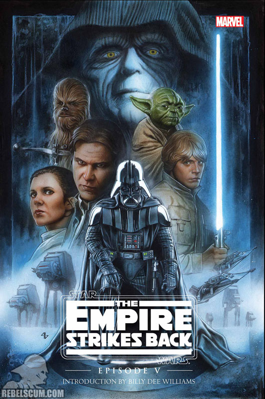 The Empire Strikes Back Original Graphic Novel Hardcover