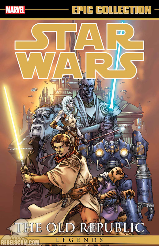 Star Wars Legends Epic Collection: The Old Republic Trade Paperback #1