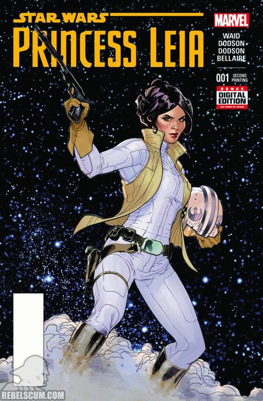 Princess Leia 1 (2nd printing - April 2015)