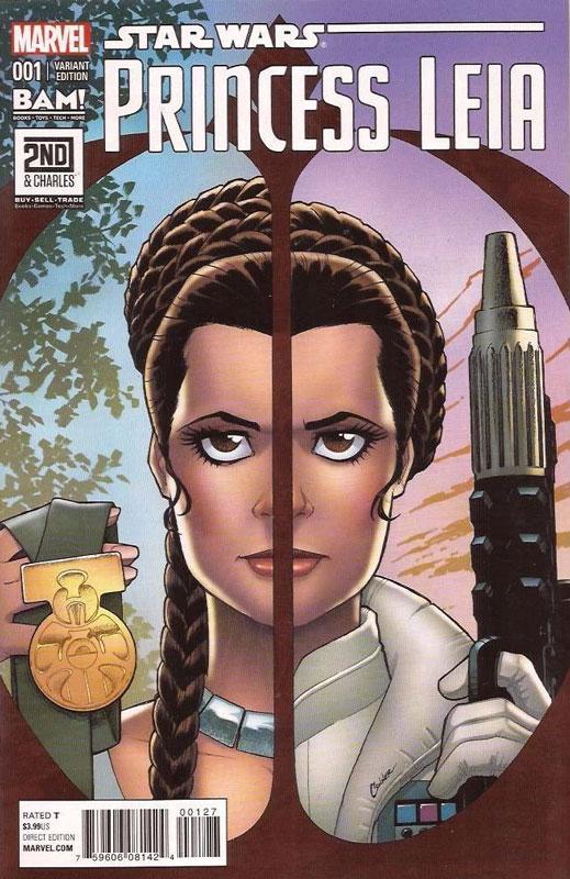 Princess Leia 1 (Amanda Conner Books A Million variant)