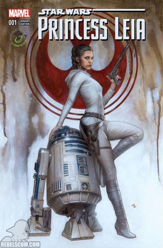 Princess Leia 1 (Adi Granov Emerald City Comic Con variant)
