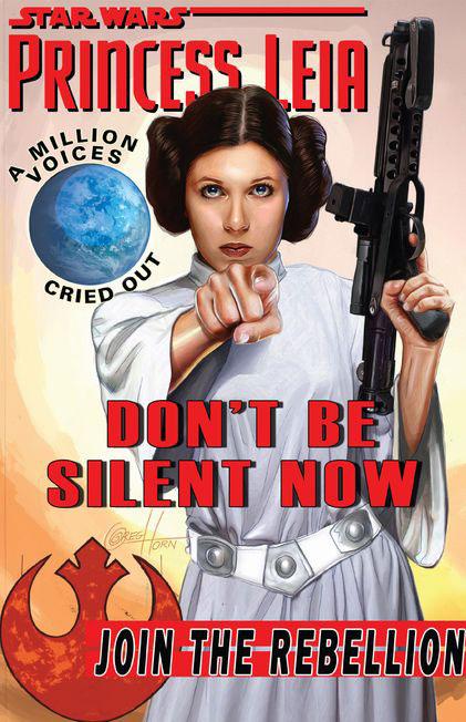Princess Leia 1 (Greg Horn Game Stop variant)