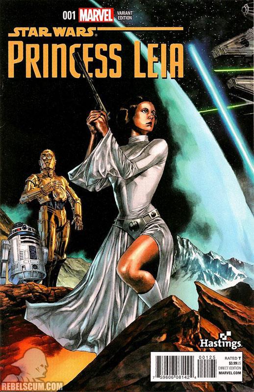 Princess Leia 1 (Mico Suayan Hastings variant)