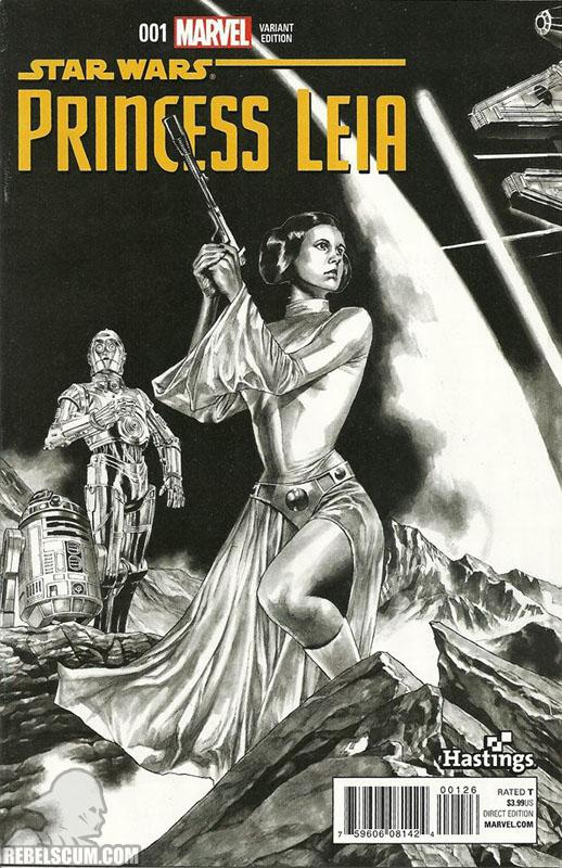 Princess Leia 1 (Mico Suayan Hastings sketch variant)