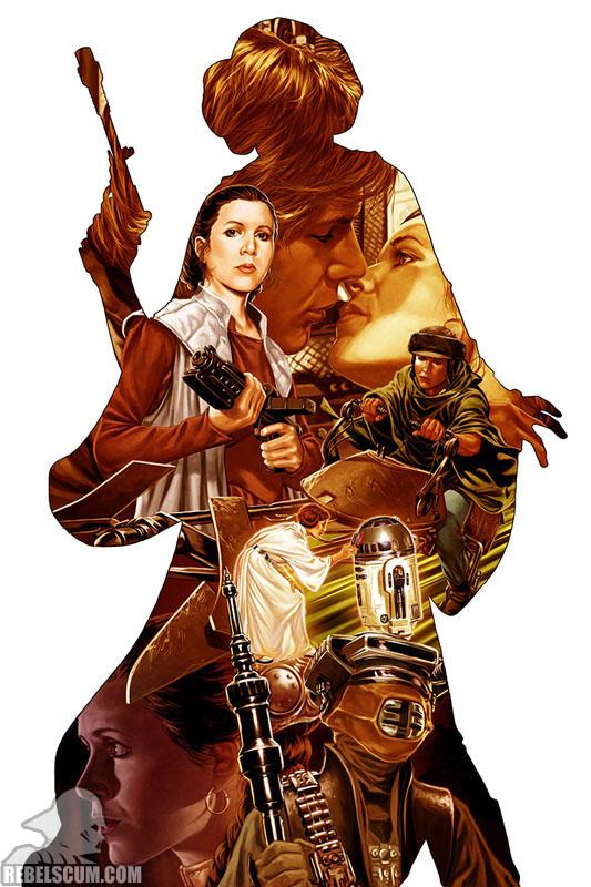 Princess Leia 1 (Mark Brooks variant)