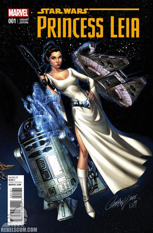 Princess Leia 1 (J. Scott Campbell connecting variant