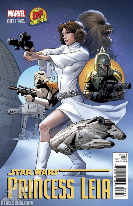 Princess Leia 1 (Dave Land Dynamic Forces variant)