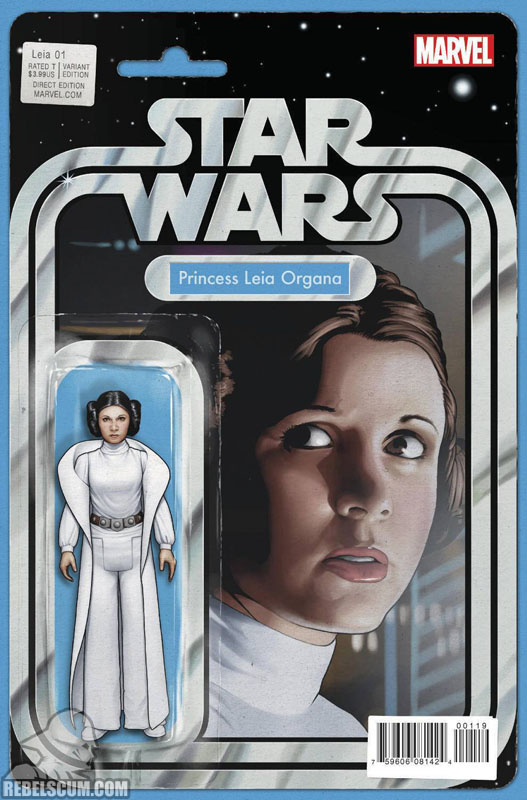 Princess Leia 1 (John Tyler Christopher Action Figure variant)