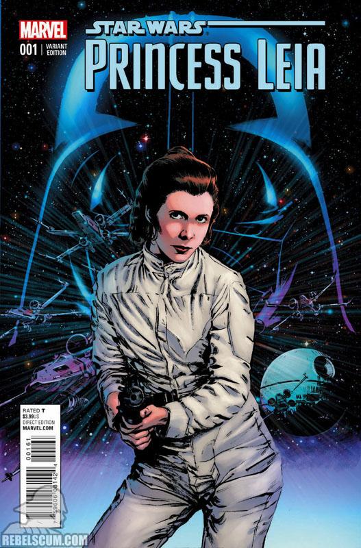 Princess Leia 1 (Jackson Guice variant)