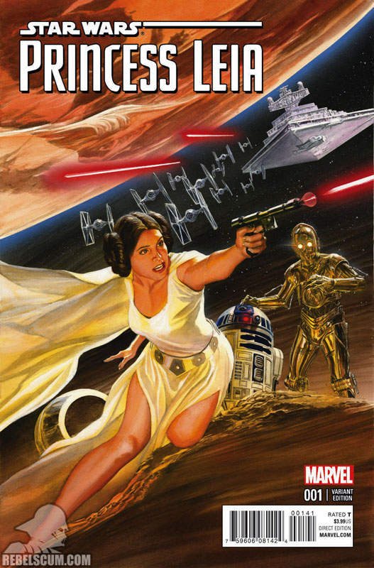Princess Leia 1 (Alex Ross variant)