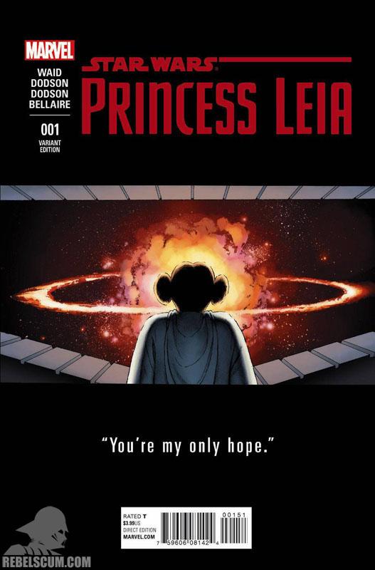Princess Leia 1 (John Cassady Teaser variant)