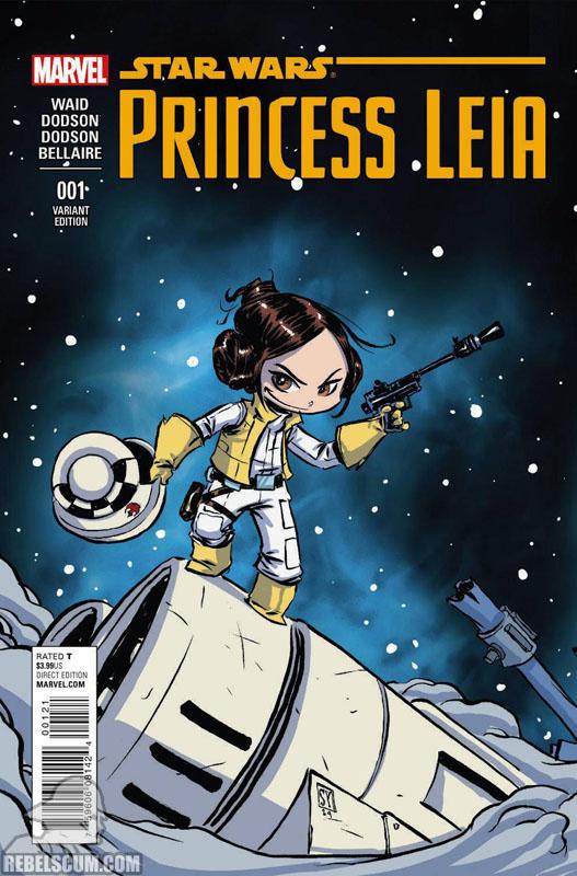 Princess Leia 1 (Skottie Young variant)
