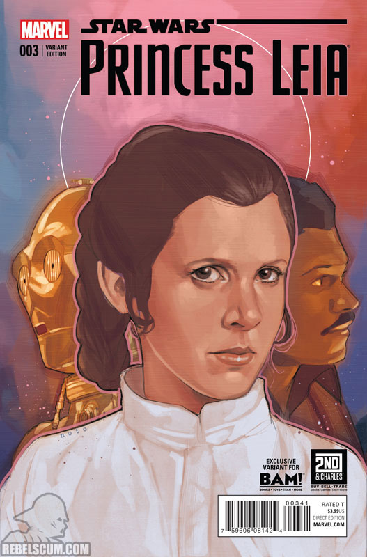 Princess Leia 3 (Phil Noto Books-A-Million variant)