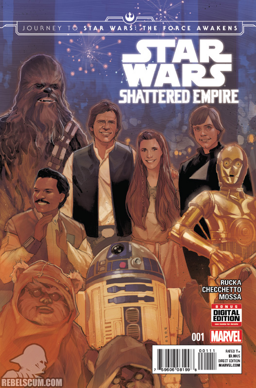 Journey to The Force Awakens – Shattered Empire #1